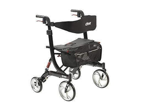 Drive Medical Heavy Duty Bariatric Nitro Euro Style Walker Rollator - Senior.com Rollators