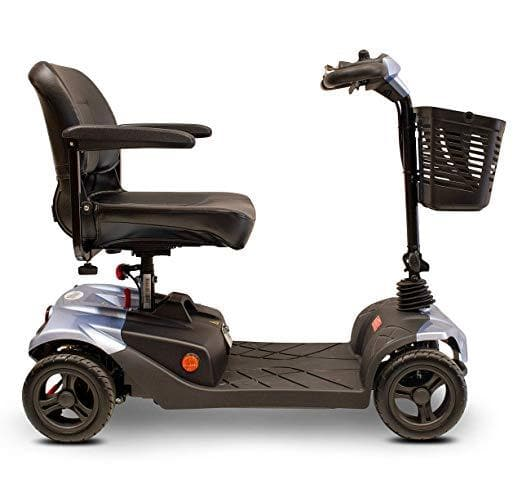 E-Wheels Lightweight Medical 4 Wheel Electric Travel Mobility Scooters - Senior.com Scooters
