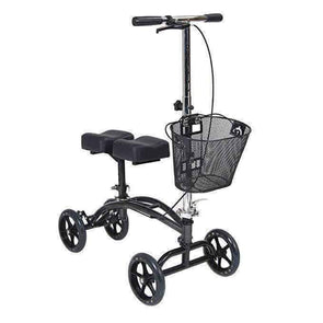 Drive Medical Dual Pad Steerable Knee Walker with Basket - Senior.com walkers