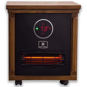 Heat Storm Classic Smithfield Portable Infrared Space Heater - Senior.com Heaters & Fireplaces