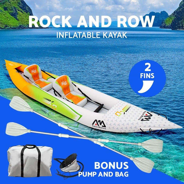 Aqua Marina Betta HM-K0 Inflatable 2 Person Kayak - Senior.com Kayaks