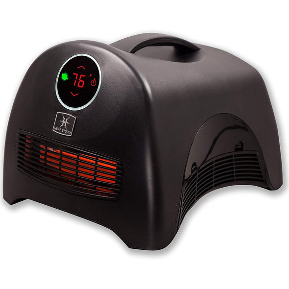 Heat Storm Sahara Ultra Portable Infrared Quartz Heater - Senior.com Heaters & Fireplaces
