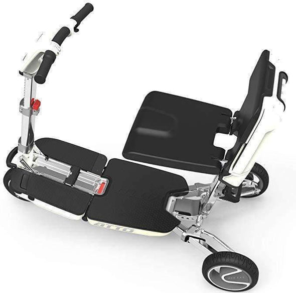 Moving Life ATTO Full-Size Folding Travel Scooter with Lithium Battery - Senior.com Scooters