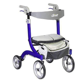 Drive Medical Nitro DLX Euro Style Folding Walker Rollators - Senior.com Rollators