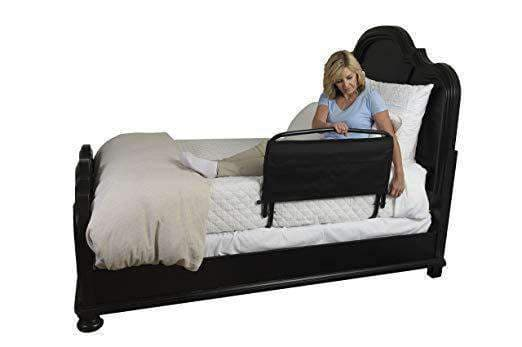 "Stander 30"" Home Safety Adult Bed Rail with Padded Organizer Pouch - Senior.com Bedroom Accessories"