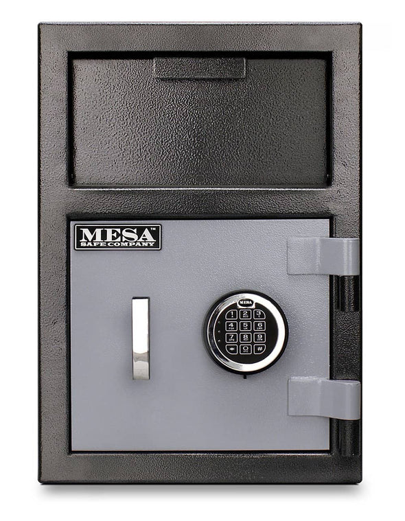 Mesa Safe All Steel Depository Safe with Electronic Lock - 0.8 Cubic Feet - Senior.com Security Safes