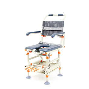 ShowerBuddy Shower Transfer System with 360 Degree Swivel Seat - Senior.com Transfer Equipment