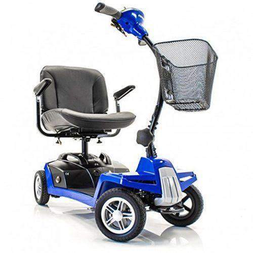 Shoprider Escape 4-Wheel Portable Take Apart Mobility Scooters - Senior.com Scooters