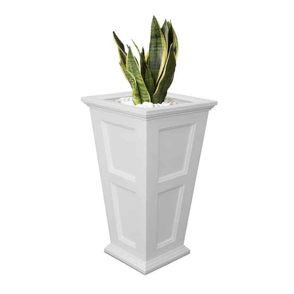 Mayne Fairfield Extra Tall Planter - 40in All Weather Design - Senior.com Planters