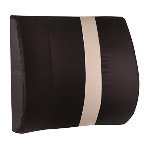 HealthSmart Vivi Relax-a-Bac Lumbar Support Cushions with Strap - Senior.com Lumbar Supports