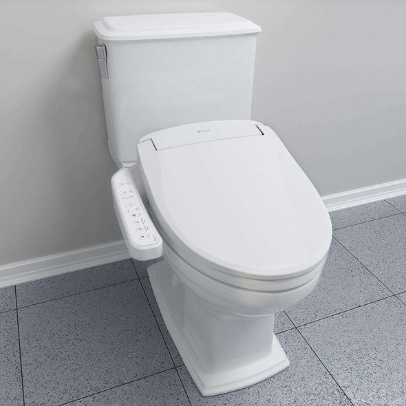 Brondell Swash 400 Bidet Seat with Air Dryer and Stainless-Steel Nozzle – Nightlight & Nozzle Oscillation - Senior.com Bidets