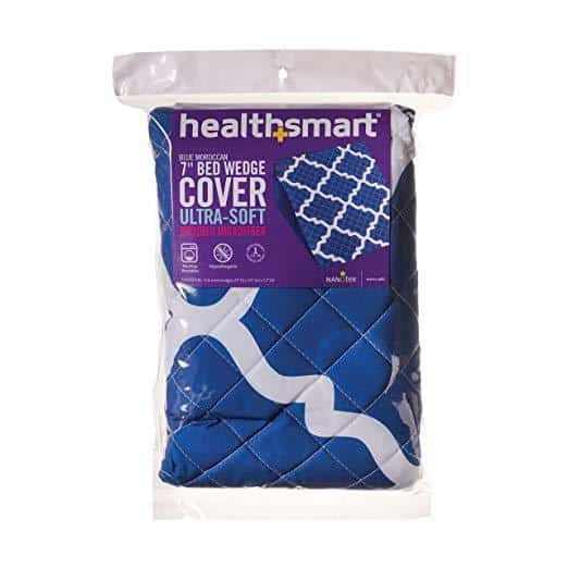 HealthSmart Premium Ultra-Soft Hypoallergenic Bed Wedge Covers - Zippered with Spill Protection - Senior.com Bed Wedges