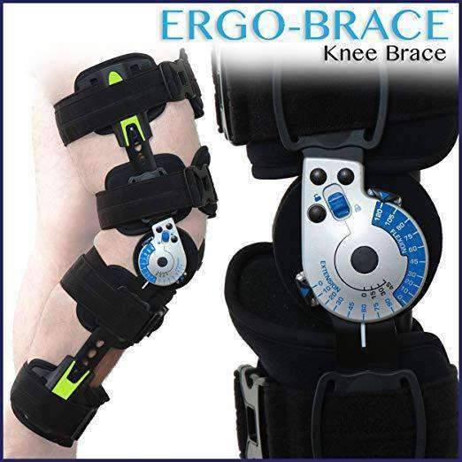 ErgoActives ErgoBrace G1 KPA Post Op Knee Brace - Senior.com Knee Braces