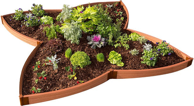 Frame It All Tool-Free Classic Sienna Butterfly Pollinator Garden - Senior.com Raised Gardens