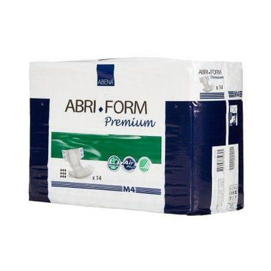 Abena Brief Abri-Form Premium M4 Tab Closure Medium Disposable Heavy Absorbency - Senior.com Incontinence