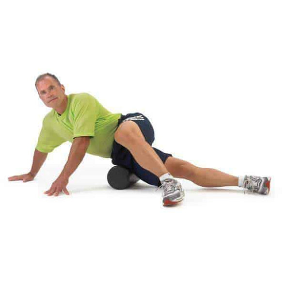 OPTP Black AXIS Firm Foam Rollers - Senior.com Foam Rollers
