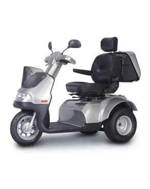Afikim Afiscooter Breeze S 3-Wheel Bariatric Scooters - Optional Canopy - Senior.com Scooters
