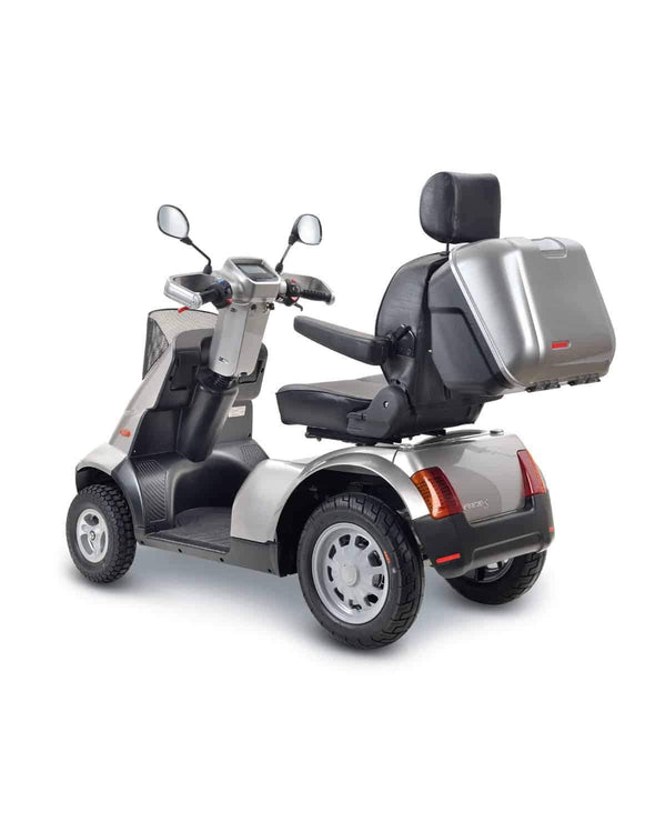 Afikim Afiscooter Breeze S 4-Wheel Bariatric Scooters - Optional Canopy - Senior.com Scooters