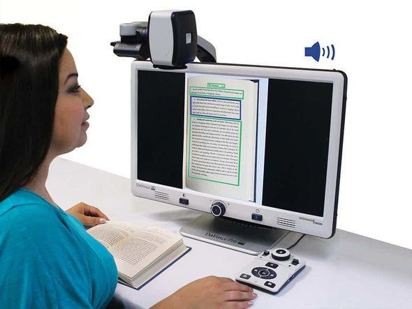 Enhanced Vision DaVinci Pro All-in-One HD Video Magnifier - Full Page Text-to-Speech - Senior.com Vision Enhancers