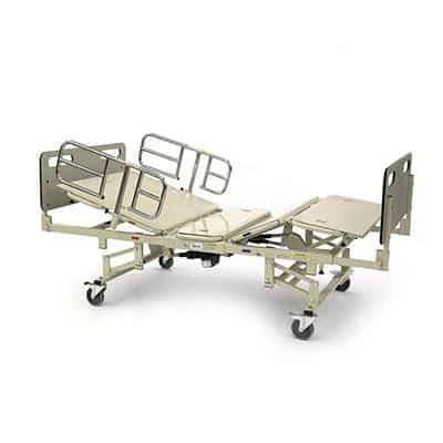 Invacare Heavy Duty Bariatric Full Electric Bed Frame Only - 750 lb Cap - Senior.com beds