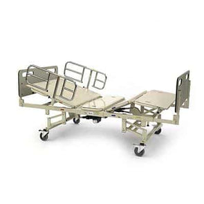 Invacare Heavy Duty Bariatric Full Electric Bed Package with Foam Mattress- 750 lb Cap - Senior.com Bed Packages