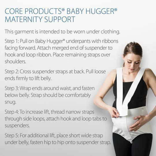 Core Products Baby Hugger Single - Senior.com Maternity Support