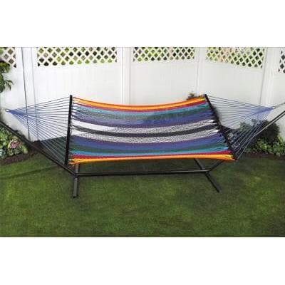 Bliss Multicolor Cotton Rope Hammock - Senior.com Hammocks