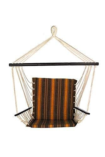 Bliss Metro Series Hammock Hanging Chair with Armrests - Senior.com Hanging Chairs