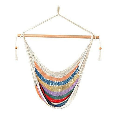 Bliss Island Rope Hammock Chair-multi