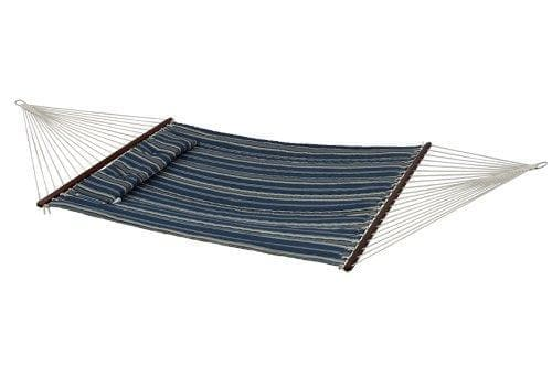 "Bliss 55"" W Quilted Hammock with Pillow"