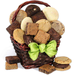 Gourmet Gift Baskets Baked Goods Sampler Gift Basket - Senior.com Gift Baskets
