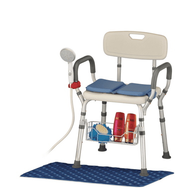 A Nova Medical Ultimate Bathing Experience – Bathroom Safety Bundle - Senior.com Bath Benches & Seats
