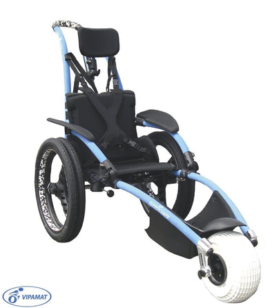 Hippocampe All-Terrain High Performance Wheelchair - Adjustable Back - Senior.com Wheelchairs