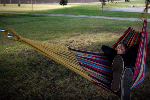 Vivere Brazilian Style Hammocks - Single - Senior.com Hammocks