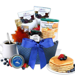 Gourmet Gift Baskets New England Breakfast Gift Basket Classic