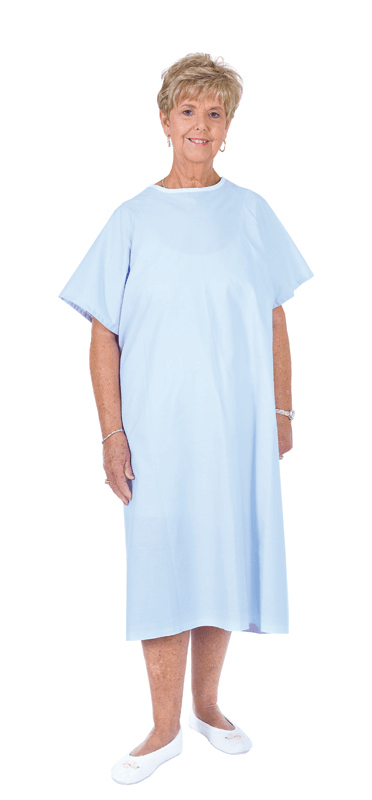 Essential Medical Supply Deluxe Patient Gown - Senior.com Patient Gowns