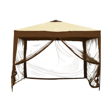 Bliss Hammocks STOW-EZ Collapsible Gazebo with Mosquito Netting - 10' x 10' - Senior.com Hammocks