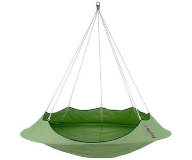 Vivere Lullio Double Hanging Cacoons - Indoor Outdoor Hanging Hammocks