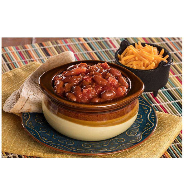 Chef 5 Minute Self-Heating Backpack Meal - Beef Chili with Beans - Senior.com Emergency Meals