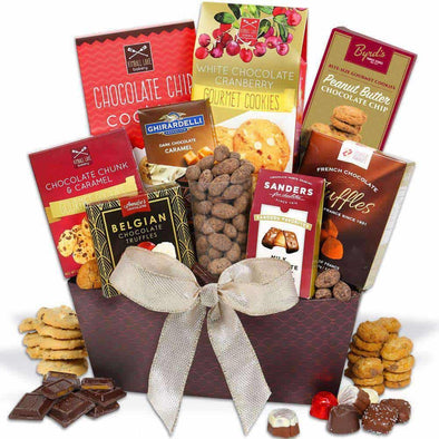 Gourmet Gift Baskets Chocolate Gift Basket - Classic - Senior.com Gift Baskets