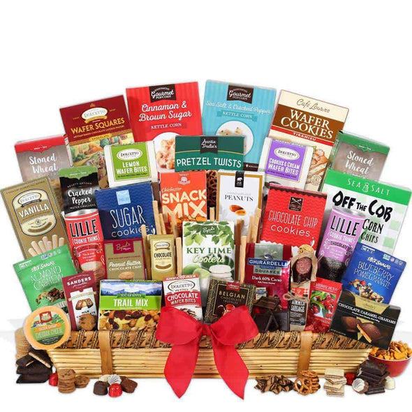 Gourmet Gift Baskets Executive Suite - Christmas Gift Basket - Senior.com Gift Baskets