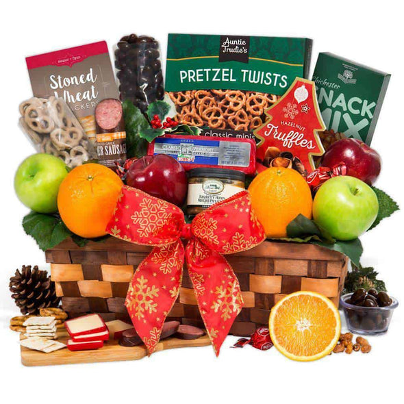 Gourmet Gift Baskets Christmas Fruit Basket - Senior.com Gift Baskets