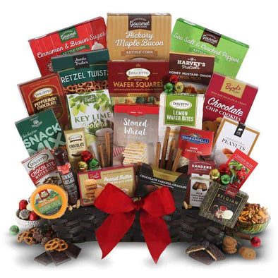 Gourmet Gift Baskets The Corporate Show Stopper - Christmas Gift Basket - Senior.com Gift Baskets