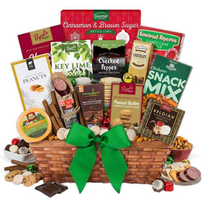 Gourmet Gift Baskets Christmas Gift Basket - Premium - Senior.com Gift Baskets