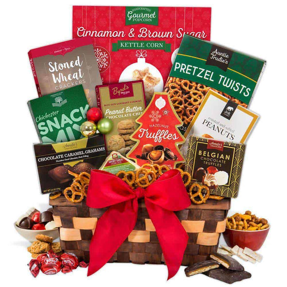 Gourmet Gift Baskets Christmas Gift Basket - Classic - Senior.com Gift Baskets