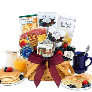 Gourmet Gift Baskets Christmas Morning Breakfast Gift Basket