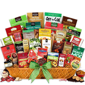 Gourmet Gift Baskets Christmas Snack Gift Basket Jumbo - Senior.com Gift Baskets