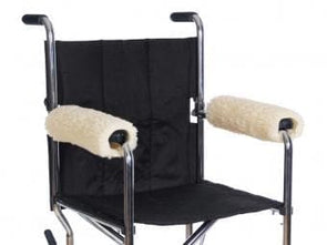 Essential Medical Supply Sheepette® Wheelchair Armrest Pads - Senior.com Wheelchair Parts & Accessories