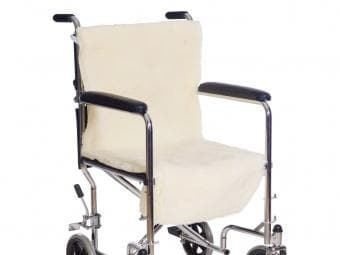 Essential Medical Supply Sheepette® Wheelchair Seat & Back - Senior.com Wheelchair Parts & Accessories
