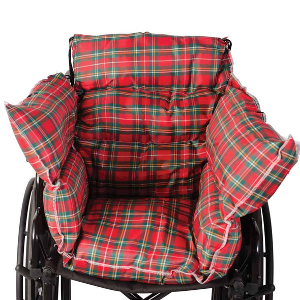 DMI Comfort Chair Pillow Cushions - Perfect For Wheelchairs, Powerchairs, & Scooters